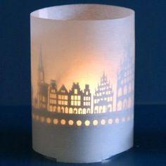 Münster Windlicht in Geschenketube