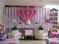 Sophia the first Birthday decorations