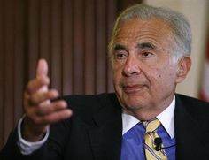 Icahn cautious on stocks, will not walk away from Apple
