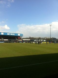 See 15 photos and 4 tips from 128 visitors to Moss Rose Stadium. British Football, Four Square, Rose, Sports, Hs Sports, Pink, Roses, Sport