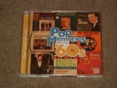 VARIOUS ARTISTS Pop Memories Of The 60's The Look Of Love(CD,Music,Oldies,2-CD's #Oldies