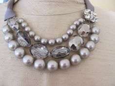 shabby chic! https://www.etsy.com/listing/92351507/gray-statement-necklace-with-vintage?ref=v1_other_1