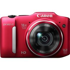 Canon, Inc 6801B001 ,16x Optical Zoom with 28mm Wide-Angle Lens and Optical Image Stabilizer