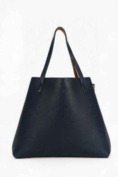 $59 UO  Reversible Vegan Leather Oversized Tote Bag