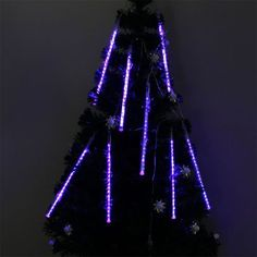 30cm 8 Tube 160 Leds Blue Color Shower Meteor Rain Light Tube for Wedding Party Christmas Xmas Decoration 5w Lights Waterproof By Bestumart by Bestumart. $23.40. * Color: Blue. * Each Tube Length: 30cm. * Waterproof: IP64. * Power: 5W. * Working Voltage: 110V, Plug Type: US standard. *  LED Qty: 20LED x 8 Tubes (160 LED lights)    1. Meteor effect, romantic aesthetic 2. LED lights emulate falling snow in the night sky  3. Low-voltage power supply  4. The light ...