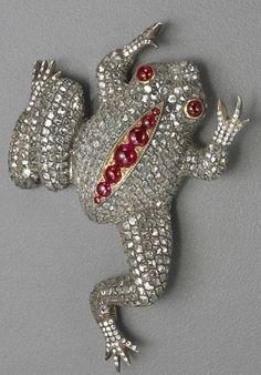 Antique Jewelry, Vintage Jewelry, Schmuck Design, Animal Jewelry, Rose Cut Diamond, Vintage Brooches, Fine Jewelry, Beach Jewelry, Jewelery