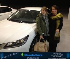 #HappyAnniversary to Vanessa Chavez on your new car from Everyone at Honda Cars of Rockwall!