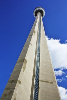 Toronto , Ontario ,Canada: The CN Tower. We ate in the sky high restaurant. What a view!