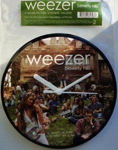 WEEZER  Beverly Hills Original 2006 Vinyl 7 45rpm by StarfishQuay, $25.00