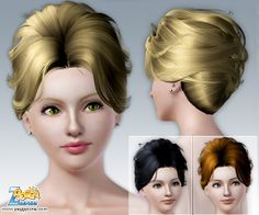 Emma's Simposium: Free Hair Pack #103 By PeggyZone - Donated/Gifted!!!