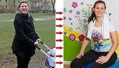 In der Schwangerschaft futterte unsere Leserin Monia rund um die Uhr. Problem: Auch nach der Geburt blieb sie auf ihren Pfunden sitzen. So schaffte sie es, in Rekordzeit 25 Kilo abzunehmen!