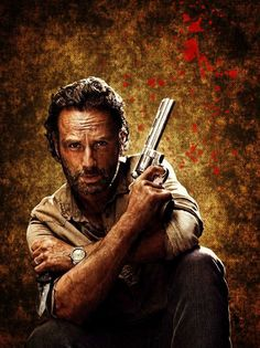 The Walking Dead - Rick Grimes Wallpaper by Ra-Shell