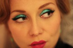 60's blue eye shadow looks - Google Search