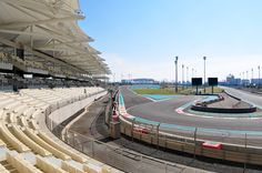 All sizes | Yas Marina Circuit north stand | Flickr - Photo Sharing!