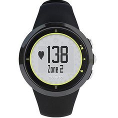 NEW Suunto M2 Mens Black Digital Fitness Watch - SS020647000