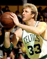 Boston Celtics Larry Byrd - Best Ever