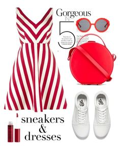 """Sneakers and dress"" by pamela-802 ❤ liked on Polyvore featuring Vans, RED Valentino, Nico Giani, Preen, Charlotte Russe and SNEAKERSANDDRESSES"