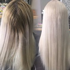 Platinum blonde perfection