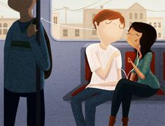 Wonderful Illustrations Capture The Sweet Moments Spent With The One You Love 12