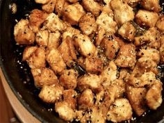 Sesame Chicken: takes absolutely no time to put together, and tastes like real take-out sesame chicken. (5 WW points , 180 cal).