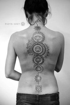 Spine chakras