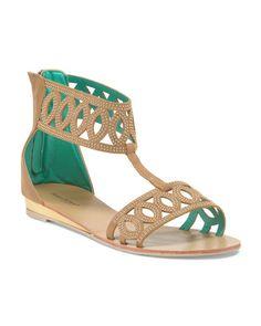 Ankle Cuff Gladiator Sandal