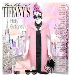 """Holly Golightly - Breakfast at Tiffany's"" by petri5 ❤ liked on Polyvore featuring art"