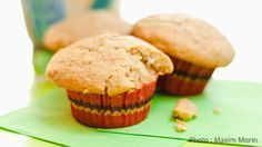 Muffins magiques aux céréales pour bébé Baby Cereal Muffin Recipe, Toddler Meals, Kids Meals, Baby Meals, Toddler Food, Homemade Breakfast, Breakfast Recipes, Muffin Recipes, Baby Food Recipes