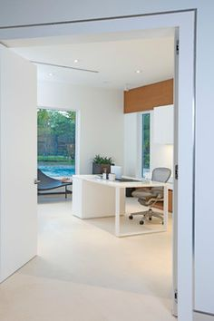 Miami Interior Design - Detailed Minimalism - modern - home office - miami - DKOR Interiors Inc.- Interior Designers Miami, FL
