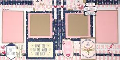 Layout Kit - Be Brave and Kind (BB) - 488316 Illustrated Faith, Greatest Adventure, American Crafts, Page Layout, Scrapbook Supplies, Paper Design, Little Ones, Brave, Card Stock