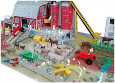 had hours of fun with this Marx farm set...still have most of the pieces to it
