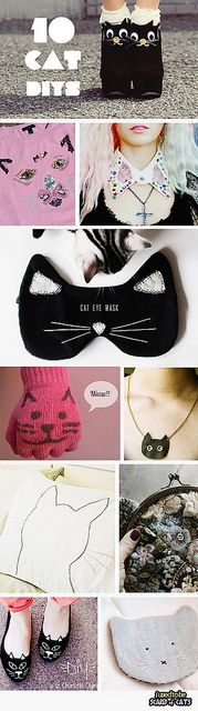 top 10 cat diys by I USED TO BE SCARED OF CATS #diy #cat #craft