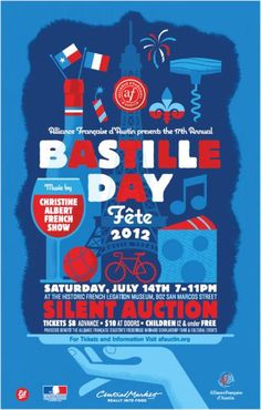 Saturday's pick: Bastille Day Fête!
