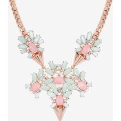 Ted Baker Jewelled Arrow Statement Necklace (1.209.300 IDR) ❤ liked on Polyvore featuring jewelry, necklaces, pink, jeweled statement necklace, statement necklace, pink necklace, adjustable necklace and bib statement necklace