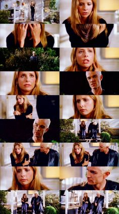 Buffy and Spike Scenes   Buffy & Spike, Buffy the Vampire Slayer, Fool for Love <-- he went from wanting to kill her to comforting her in 1 minute flat