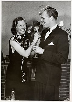 Celebrating with husband Franz Grothe Husband, History, Celebrities, Movies, Movie Posters, Fictional Characters, Historia, Celebs, Films