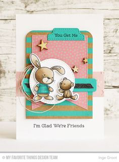 Patterned Paper : Mix & Match #5, I'm Glad We're Friends