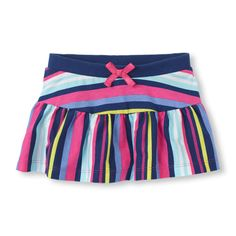The look of a skirt with attached shorts for a super-comfy fit! (Children's Place 6m-5T)
