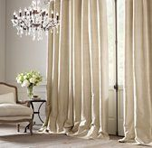 Love these window treatments for the dining room