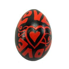 Mahogany Wood Egg Shaker - Love Design - Jamtown World This romantically-inspired wooden egg shaker measures 2.5 inches by 1.5 inches. Instruments