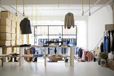 Folk Clothing Retail Interior Design Brick Lane - IYA Studio