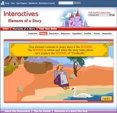 story elements website