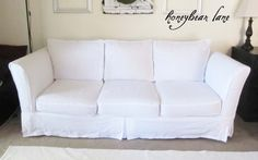 Couch Cover DIY