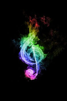 A flaming rainbow treble clef. I love this one so much because I play clarinet A flaming rainbow treble clef. I love this one so much because I play clarinet Musik Wallpaper, Iphone 5 Wallpaper, Galaxy Wallpaper, Wallpaper Art, Dance Wallpaper, Music Lyrics, Music Quotes, Music Music, Art Of Music