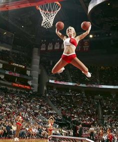 HOLY COW!!  --jb--  Rocket Power! - The Houston Rocket dancers show how it's done.