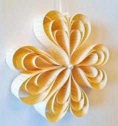 Hängenden Papier Ornament - Kreis der Herzen, Dekoration, Hochzeit, Party, Wohnkultur, Papier-Blume, Geschenk, einzigartig