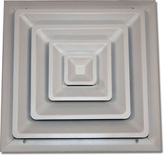 Step Down Ceiling Diffuser 100-8X8