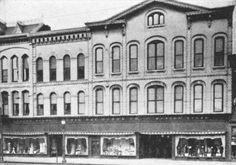 Boston Store, 718-726 State Street.  When it was called the Erie Dry Goods Store