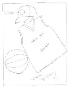 Basketball theme cake idea By christinapp on CakeCentral.com
