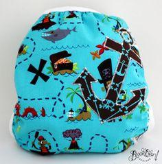Ahoy Matey Cloth Diaper Cover